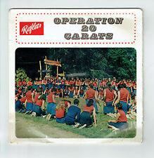 """OPERATION 20 CARATS Vinyle 45T 7"""" EP Chant CARAVELLE DU LEVANT Guides Mené RARE"""