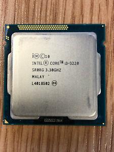 INTEL SR0RG Core i3-3220 3.3GHz Dual Core Socket 1155 Ivy Bridge Processor CPU