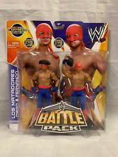 WWE Mattel Battle Pack Los Matadores Diego & Fernando NIP WWF WCW ECW