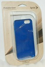 NEW Apple iPhone 5 5s SE Cell Phone SKY BLUE Sprint Travel Shock Case cover