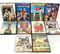 Lot of 10 DVD - Kids Assorted Mixed Comedy Family Action GREAT FOR MOVIE NIGHT!!