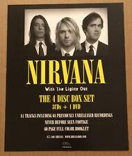 Nirvana Rare 2000 Promo Window Static Cling Poster 4 thinking Cd 8x10 Mint Usa