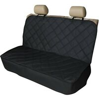 Heavy Duty Premium Quilted Rear Sear Bench Pet Dog Cover Protector Liner