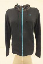Pearl Izumi for Women Black Fleece Lined Zip-Front Hoodie Size Medium GREAT LOOK