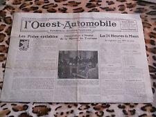 Journal - L'Ouest-Automobile n° 577, décembre 1936