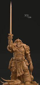 40K Sigismund Von Luxemburg White Model Statue Resin Figure Toys Display Stand
