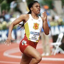 Women's Nike USC Trojans Team Track & Field Compression Running Shorts XS