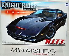 KIT KNIGHT RIDER KITT SEASON FOUR SERIE TV SUPERCAR 1/24 AOSHIMA AO04130  4130