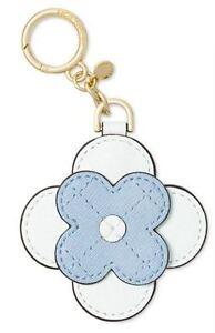 NWT MICHAEL Michael Kors Flower Bloom Charm Pale Blue