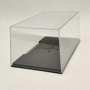 Acrylic Case Display Box Cover Transparent Dust Proof Model Car 1:24 1:32 22cm