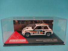 RENAULT 5 TURBO #6 - R5 - CARLOS SAINZ - RALLY VENDIMIA 1983 1/43 NEW IXO ALTAYA