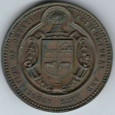CANADA Agricultural and Arts Association of Ontario Medal Leroux 1462 Inv 4007