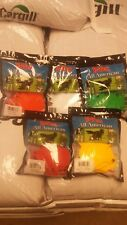 Y-TEX LARGE 4-STAR ear TAGS Adult Cattle  Blank pick your Color 25ct pk