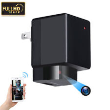 1080P WIFI HD SPY DVR Hidden EU/US Wall Charger Camera Adapter Plug Nanny Cam DV