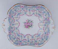 Queen Anne Royal Bridal Gown Tab Handled Dish