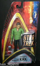 STAR TREK Originale Serie WAVE uno CAPTAIN James T. Kirk W / Starfleet Gear. NUOVO!