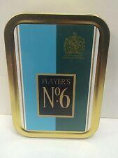 Players Number 6 Retro Advertising Brand Cigarette Tobacco Storage 2oz Tin