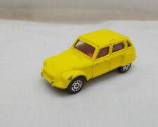 Vintage Corgi Juniors Citroen Dyane Car - Made In Gt Britain