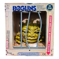 """Boglins King Dwork TriAction Toys 8"""" Limited First Edition In Hand Ship Free"""