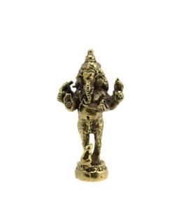 Amulet Elephant Ganesh Hinduism Talisman Blessed D26
