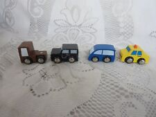 Lot of 4 Thomas Train Vehicles Taxi Van Truck Jeep
