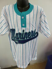 Russell Athletic MLB Seattle Mariners Baseball Youth Henley Shirt New S