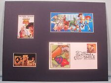 Toy Story 2 - Woody & Jessie & Buzz Lightyear & First Day Cover of its own stamp