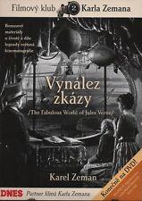 VYNALEZ  ZKAZY - THE FABULOUS WORLD OF JULES VERNE CZ FILM 1958 DVD NEU