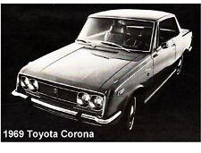 1969 Toyota Corona  Novelty  Refrigerator / Tool Box Magnet