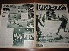 IL CALCIO E CICLISMO ILLUSTRATO 1957/35 ANGELILLO MILAN MARZOTTO GENOA COMO