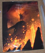 LORD OF THE RINGS Art Print poster FORGING THE ONE RING Marko Manev