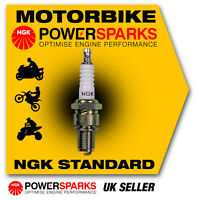 NGK Spark Plug fits KYMCO Super 8 50 (2-Stroke) Ø14mm Plug 50cc 07-> [BR8HSA] 55