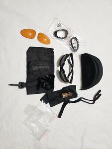Wiley X SG-1 Ballistic Eyewear Sunglasses Dark ,Clear vermillion Lenses Military