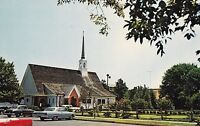 "*Delaware Postcard-""All Saints Episcopal Church"" /Rehoboth Beach, DE./  (U1-13)"