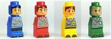 LEGO Harry Potter Microfigs - Gryffindor Hufflepuff Ravenclaw & Slytherin Player