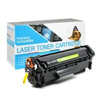 USA Advantage Compatible Toner Cartridge for HP 12X (Q2612X) (Black,1 Pack)