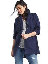 NWT Gap Maternity utility jacket, dark night SIZE S                #658994 v1128