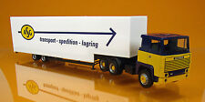 "Herpa 307321 Scania 141 Jumbokoffer-Sattelzug "" ASG "" Schweden"