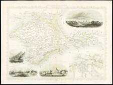 More details for 1851 - illustrated original antique map of
