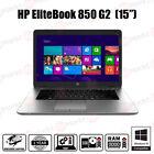 HP Elitebook 850 G2 Laptop Core i5 5th Gen 8GB RAM 480GB SSD Windows 7 10 Pro