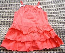 FRED BARE BABY GIRLS  RED DRESS WITH ATTACHED BLOOMERS SZ  0