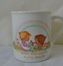 Vintage Hallmark Mug Mates Friends Coffee Cup Mug 1983 Betsy Clark