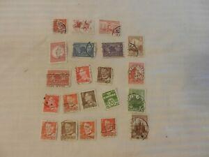 Lot of 21 Denmark Stamps, 1941, 1979-81 Buildings, Bering's Ship, King