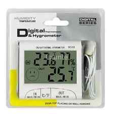 Digital LCD Outdoor Room Thermometer Hygrometer Max Min Temperature Humidity UK