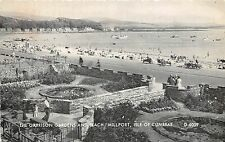 MILLPORT ISLE OF CUMBRAE SCOTLAND GARRISON GARDENS & BEACH PHOTO POSTCARD c1950s