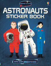 Usborne Astronauts Sticker Book (pb) over 250 stickers design own space suit