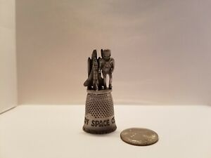 Kennedy Space Center Pewter Thimble