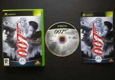 JEU Microsoft XBOX : JAMES BOND 007 QUITTE OU DOUBLE (complet, envoi suivi)