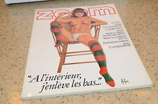 1983 Zoom Magazine #98 French Edition Aslay Aslan Ad Fashion Paris Hagen