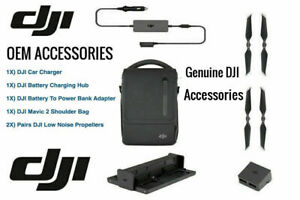 Original DJI Mavic 2 Pro Zoom Genuine Accessories From Fly More Combo Kit Bundle